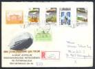 Hungary Registered Cover; Airship Luftschiff Zeppelin: Graf Zeppelin LZ 127  1931 Hungury Ungarn Fahrt; Space Shuttle - Montgolfier