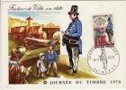 MEURTHE ET MOSELLE - Nancy- Carte Postale- Journée Du Timbre - 1970 - Marcophilie (Lettres)