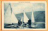 LOL004, Aiguebelette, Voiliers Sur Le Lac, 650, Animée, Circulée - Aiguebelle