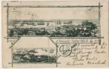 Bird'seye View Of Newcastle Harbor NSW Used 1904 - Newcastle