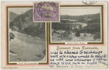 Souvenir From Tasmania Brown's River Hobart And South Esk, Launceston Edit Robert Jolley Used From Footscray Victoria - Australia