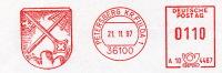 Freistempel 6138 Wappen Petrusschlüssel Maischkrücke - Marcophilie - EMA (Empreintes Machines)