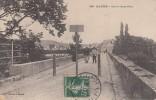 Thématiques 78 Yvelines Mantes La Jolie Sur Le Vieux Pont  Ecrite Timbrée Cachet 1908 - Mantes La Jolie