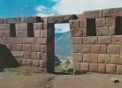 Peru--1979--Portico De Un Recinto Incaico De Pisaq------a, Francia - Perú