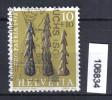 Schweiz, Zst. PP 154, Mi. 971 O Harpunenspitze - Archeologia