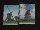 Portugal Azores Azoren 2002 Windmolens Moulins à Vent Yv 482-483 MNH ** - Windmills