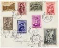 Toeslagzegels N°504/511 Op Brief Van LA ROCHE-EN-ARDENNE 24 VIII 1939 Naar ROTTERDAM - Belgique