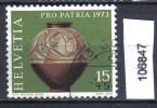 Schweiz, Zst. PP 158, Mi. 996 O Gallischer Krug - Archeologia