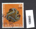 Schweiz, Zst. PP 166, Mi. 1053 O Goldene Gewandschliesse - Archeologia