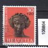 Schweiz, Zst. PP 167, Mi. 1054 O Kopf Des Bachus - Archeologia