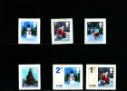 GREAT BRITAIN - 2006  CHRISTMAS  SET   MINT NH - 1952-.... (Elisabetta II)