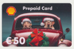 Shell - 50 € - Geschenkkarte/Giftcard  -   Gebraucht / Leer  !!!!! ( 471) - Gift Cards