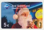 Aral SuperCard - 5 € - Motiv : Weihnachtsmann  - Geschenkkarte/Giftcard  -   Gebraucht / Leer  !!!!! ( 475 ) - Gift Cards
