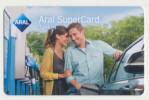 Aral SuperCard - Ohne Wertaufdru - Motiv : Paar - Mann/Frau  - Geschenkkarte/Giftcard  -   Gebraucht / Leer  !! ( 477 ) - Gift Cards