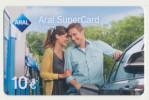 Aral SuperCard - 10 € - Motiv : Paar - Mann/Frau  - Geschenkkarte/Giftcard  -   Gebraucht / Leer  !! ( 478 ) - Gift Cards