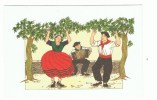 Anne-Odile HUET-HUMEAU : BASQUES: Fandango  Signé - Illustrateurs & Photographes