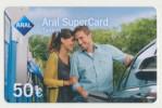 Aral SuperCard - 50 € - Motiv : Paar - Mann/Frau  - Geschenkkarte/Giftcard  -   Gebraucht / Leer  !! ( 480 ) - Gift Cards