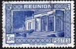 Réunion Obl. N° 142 Vue -> Musée Léon Dierx à Saint Denis Le 1fr50 Outremer - Oblitérés