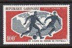 GABON - 1966 FOOTBALL WORLD CUP ENGLAND 100F SG 264 FINE MNH ** - Gabon