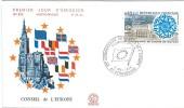 Conseil De L´Europe/Strasbourg/25 éme Anniversaire/1974      PJE38 - FDC