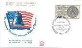 Bicentenaire Des Traités De Versailles Et De Paris /Indépendance Américaine/ Paris /1983    PJE43 - FDC