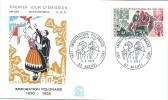 Immigration Polonaise/ 1921 - 1923/.Auchel/1973   PJE44 - FDC