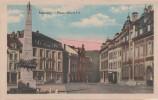 CPA - AK Malmedy Place Albert 1er Hotel Bei Eupen Verviers Monschau Liege Lüttich Aachen Simmerath Roetgen Lontzen Eifel - Eupen Und Malmedy