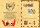Hungary 1994. Josef Bem - Joint Issue With Poland - Stamps On SPECIAL SOUV. CARD !!! Michel: 4281 - Nuovi
