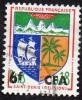 Réunion Obl. N° 346,B - Armoiries  - Blasons De Saint Denis - Réunion (1852-1975)