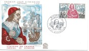 Cardinal De Richelieu/ La Rochelle / 1970      JE57 - FDC