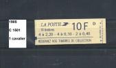 Variété Carnet De 1985 Neuf** Y&T N° C 1501 1 Cavalier - Varieteiten: Postzegelboekjes