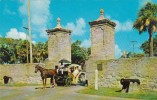 The City Gates To The Oldest City In The United States Saint Aug