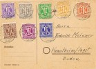 16319. Tarjeta KRAUTHEIM (Alemania Zona Ocupacion Anglo Americana) 1946 - Bizone