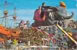 DISNEYLAND  Dumbo Fantasyland,  Elephants Fly , Vintage Old Photo Postcard - Disneyland