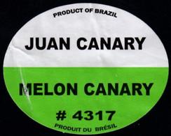 Fruits & Vegetables - Melon Canary, Produce Of Brazil (FL4317) - Fruits Et Légumes