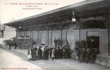 87. HAUTE-VIENNE - LIMOGES. Obsèques Du Dr Chénieux, Maire De Limoges (8 Mars 1910). Embarquement Du Corps. - Limoges