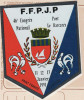Autocollant FFPJP, 46è Congrès à Port Barcarès, Pétanque,  Tricolore, Blason - Stickers