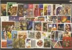 Noël - Petit Lot De 50 Timbres Oblitérés - Stamps