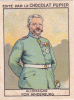 ALLEMAGNE GERMANY VON HINDENBURG + Texte Au Dos Chromo Publicitaire Chocolat Pupier Années 35/40 - Chocolat