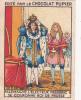 ALLEMAGNE GERMANY Electeur FREDERIC Couronne Roi De Prusse + Texte Dos Chromo Publicitaire Chocolat Pupier Années 35/40 - Chocolat