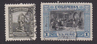 Colombia, Scott #C129-C130, Used, Scenes Of Colombia, Issued 1941 - Colombia