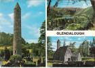 Glendalough, Multi View Postcard (pk28780) - Wicklow