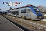 Postcard, French Railway Stations, Haguenau - Cartes Postales