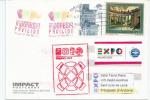 INDONESIE. EXPO  MILANO 2015. Le Temple De Borobudur, Carte Postale Vendu Au Pavillon Indonésien à MILAN - Indonesia