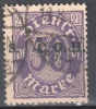 Germany 1920 Upper Silesia - Official Stamps - Mi. 6 - Used - Gestempelt - Germany