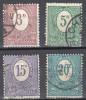 Germany 1920 Upper Silesia - Mi.2,3,5,6 - Used - Gestempelt - Settori Di Coordinazione