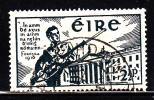 Ireland Used Scott #120 2 1/2p Volunteer Soldier, Dublin Post Office - Easter Rebellion 25th Anniversary - 1937-1949 Éire