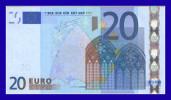 "20 EURO ""V"" SPAIN Firma TRICHET M017 F3  XF++ SEE SCAN!!!!!! - EURO"