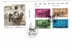 1995 Canada The Second World War 43c Plate Block First Day Cover - 1991-2000