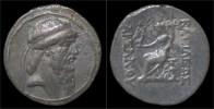 Parthian Kingdom Bagasis AR Tetradrachm - Griechische Münzen